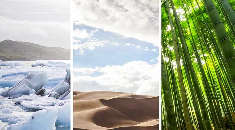 Les différents climats sur Terre