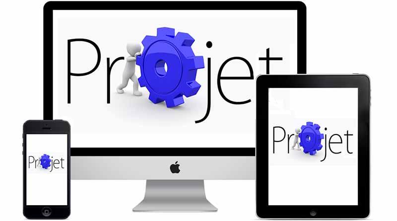 Promotion et présentation d'un projet