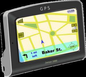 Un GPS de voiture