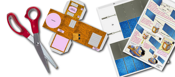 maquettes papier - CNES