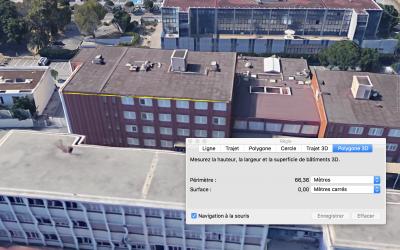Comment prendre les mesures de bâtiments sur Google Earth ?