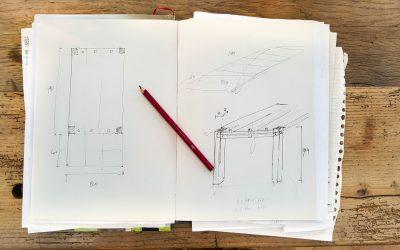 Réalisons les plans de nos nichoirs…