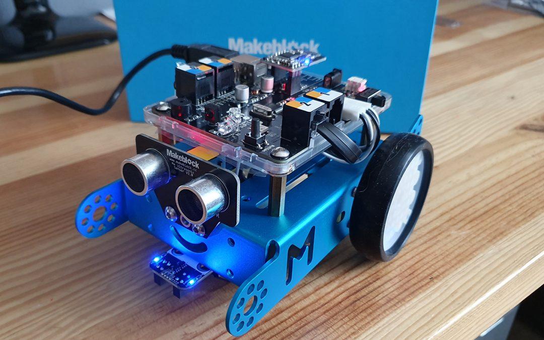 Présentation du robot mBot